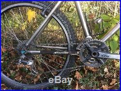 Kona Hei Hei Titanium Mountain bike retro 19inch xtr hope fox Ringle' Easton