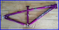 Kona Lisa Xs 14 Purple Aluminium Hardtail Frame 26 Wheel Mountain XC Bike