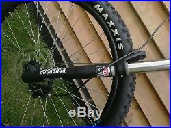 Kona Precept 130 full sus bike frame size L
