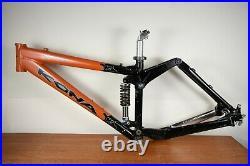 Kona Stinky Frame Aluminum Full Suspension Mountain Bike 15in