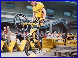 Libor Karas Tommy Hilfiger Volvo Cannondale Mountain Bike MTB Trials Frame
