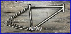 Litespeed Pisgah 26 titanium mountain bike frame, Medium, Disc, Really Nice