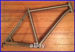 Lynskey MT 27.5 MT650 Titanium Mountain Bike Frame 27.5 650b XL Made In USA