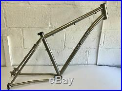 Lynskey MT 29 Titanium Mountain Bike Frame 29er Size Large 19 44mm Headtube XC