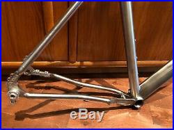 Lynskey Pro GR gravel 6/4 titanium disc frame, size Large, takes 142mm thru axle