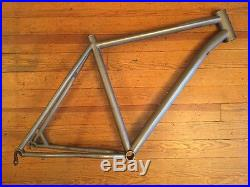 Lynskey Ridgeline mountain bike frame 27.5 650b XL Titanium 135mm QR