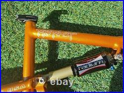 MADE IN USA Cannondale Prophet Full Suspension MTB Frame with Manitou Shock Medium