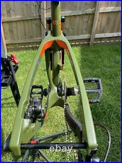 Marin Attack Trail Pro Carbon Full Suspension Frame +Rear Shock READ DESCRIPTION