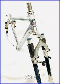 Marin Team FRS Full Suspension Mountain Bike Frameset Manitou Front & Rear