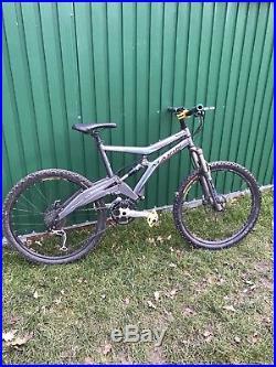 Marin Wolf Ridge Mountain Bike 17.5 Medium frame Fox full suspension, Hope