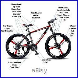 Men/Women 24Speed 24/26 Wheel MTB Frames Full Suspension Mountain Bike/Bicycle