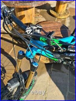 Mens cube fritzz 180 mountain bike 18in frame