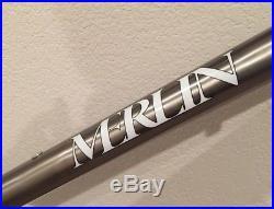 Merlin Titanium Vintage & Rare Mountain Frame 1993 18.75 1 Headtube # 9227