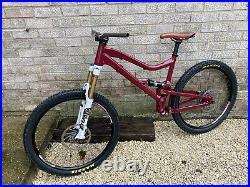 Mongoose Teocali Mountain Bike FRAME & SHOCK 26in 150mm Travel Full Suspension