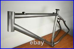 Mongoose Titanium MTN Bike Frameset 26 or 650b 18