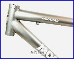 Moots Mooto XZ Titanium Full Suspension Mtb Frame Fox Float RP23 Salsa Collar