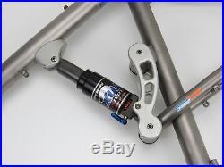 Moots Smoothie Full Suspension Titanium MTB Frame, Large 20
