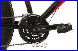 Mountain Bike 26 Fat Bike SNW2458 Black-Red 24 Speed Frame 46 cm New 380M