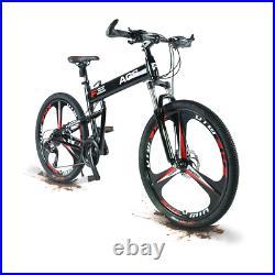 Mountain Bike/Bicycle NEW SPEED Men/Women 27 Speed MTB Frames Full Suspension