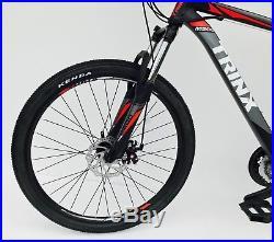 Mountain bike 26 wheel 20 frame 24 shimano gears lock out fork & lightweight