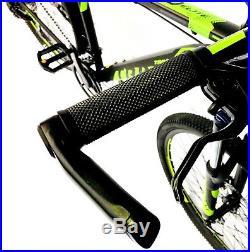 Mountain bike 27.5 wheels 18 frame 24 shimano gears lock out forks TRINX