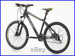 Mountain bike, GREENWAY Brand, Alloy frame & Fork, Front suspension, Size 26 Inch
