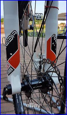 Mountian Bike Whyte Full Suspension T120S Mens Youth S Frame Rock Shox Sram