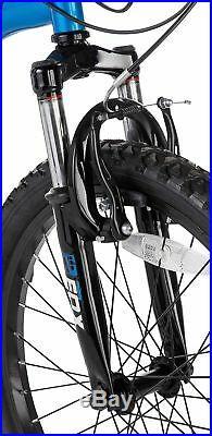 Muddyfox Radar 20 Inch Wheels 13 Inch Frame Full Suspension Mountain Bike Boys