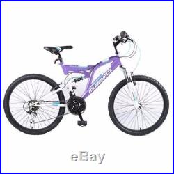 Muddyfox Recoil 24 Inch Girls Mountain Bike 24 Alloy Wheels 18