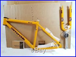 NEW 1997 Cannondale CAAD3 Large Frame and Fork NOS
