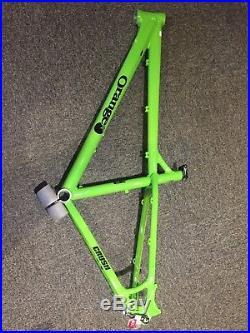 New 2017 Orange Mountain Bike Crush Frame, Hardtail, Medium