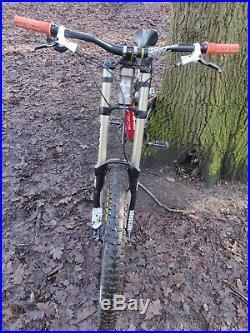 Nukeproof Scalp 2014 Downhill mountain bike, 26 wheels, small frame