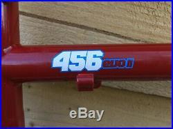 On One 456 Evo II MOUNTAIN BIKE STEEL 18 HARDTAIL FRAME + FORKS