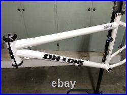On One Inbred 16 Steel, Single Speed Slide Rear Drop Outs Frame, 26 Wheels
