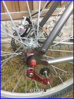 On One Inbred Titanium 17 Frame, 26wheel Mtb. Ti Frame, Forks, Bars, post