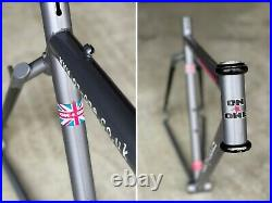 On One il Pompino Steel Single Speed 29er 700c Anything Frame 135mm Trar- UK