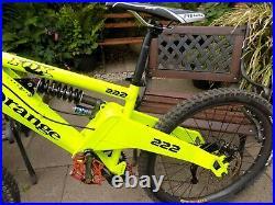 Orange 222 Full Suspension Mountain Bike 15 Frame Hydraulic Disc Brakes
