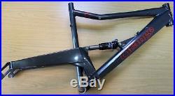 Orange 5 FIVE LARGE 20 Full Suspension Mountain Bike Frame Fox RP23 Grey 6.79lb