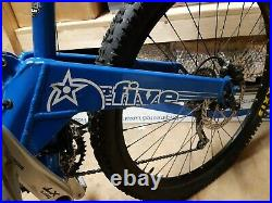 Orange 5 Five Full Suspension MTB 26 wheels. 18 inch frame. 2009