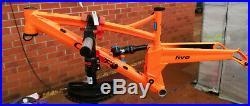 Orange 5 Mk11 frame, medium Atomic Orange (for 27.5 wheels)