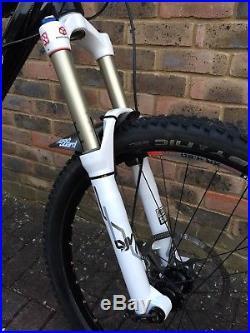 Orange Alpine 160 26 wheels 18 frame Black Mountain Bike Enduro MTB