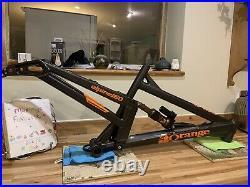 Orange Alpine 160 Factory Full Suspension Mountain Bike Frame Medium 27.5