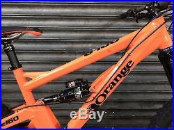 Orange Alpine 160 RS, Medium Frame, Full Suspension Mountain Bike, 2016 Model