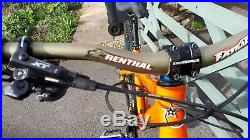 Orange Crush Mountain Bike Medium Frame High Spec Custom Build 2017