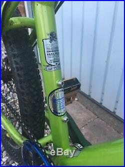 Orange Crush mountain bike MTB Medium Alloy Frame VGC Fox Forks Shimano XT Hope