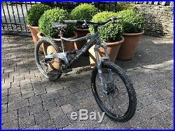 Orange Five Mountain Bike Great Condition Metallic Grey Fox Hope Spec 18 Frame