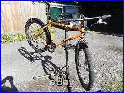 Orange P7 MTB, Kona Project 2 forks, 27 speed Late 90's, fully serviced