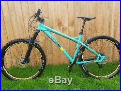Orange clockwork 137 mountain bike hardtail 27.5 large frame