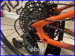 Orange clockwork Evo Comp 29er 2020 Hardtail mountain bike Large Frame