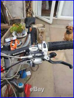 Orange five 5 full suspension mountain bike with Hope Brakes /Hubs. Medium frame